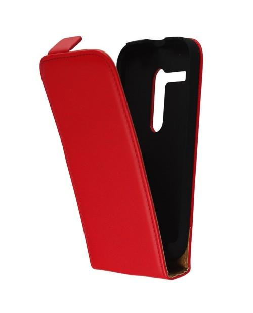 Euti Pokrowiec Case Motorola Moto G Slim Czerwony