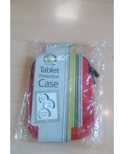 """Uniwersalne etui na tablet 7"""" kolor czerwony"""