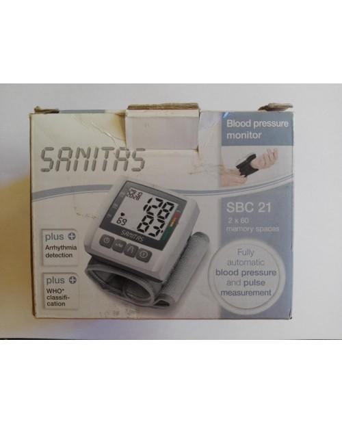Sanitas ciśnieniomierz na nadgarstek SBC 21