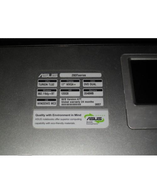Laptop Asus Z83T niesprawny